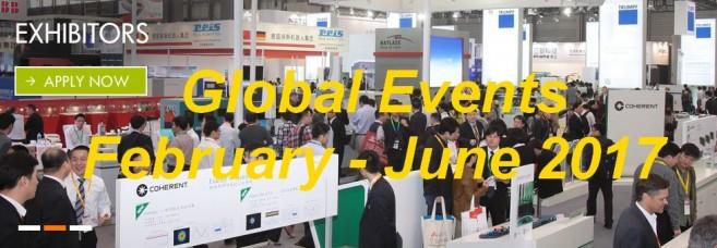 Global Events February - June 2017