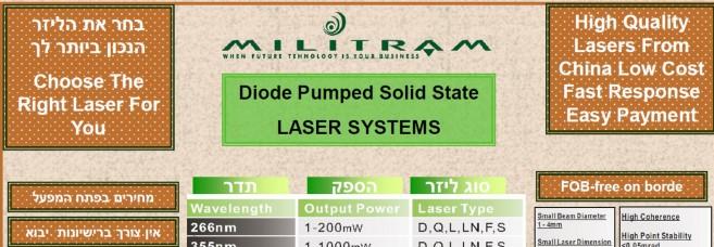 Choose Your Laser