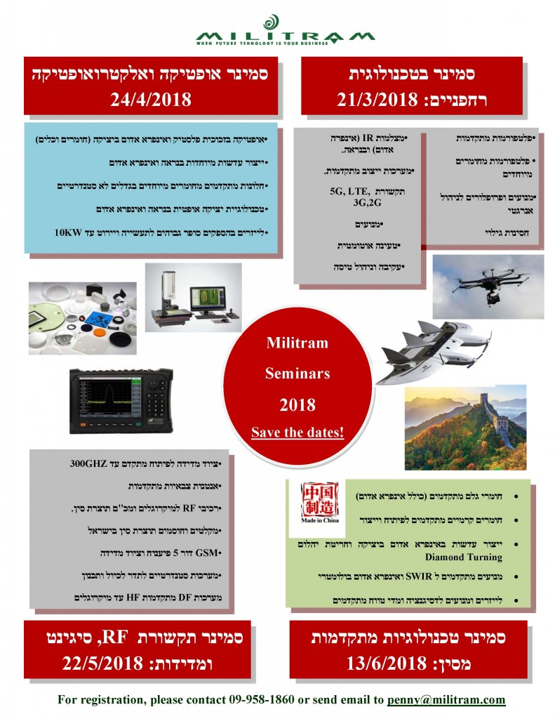 Seminars 2018