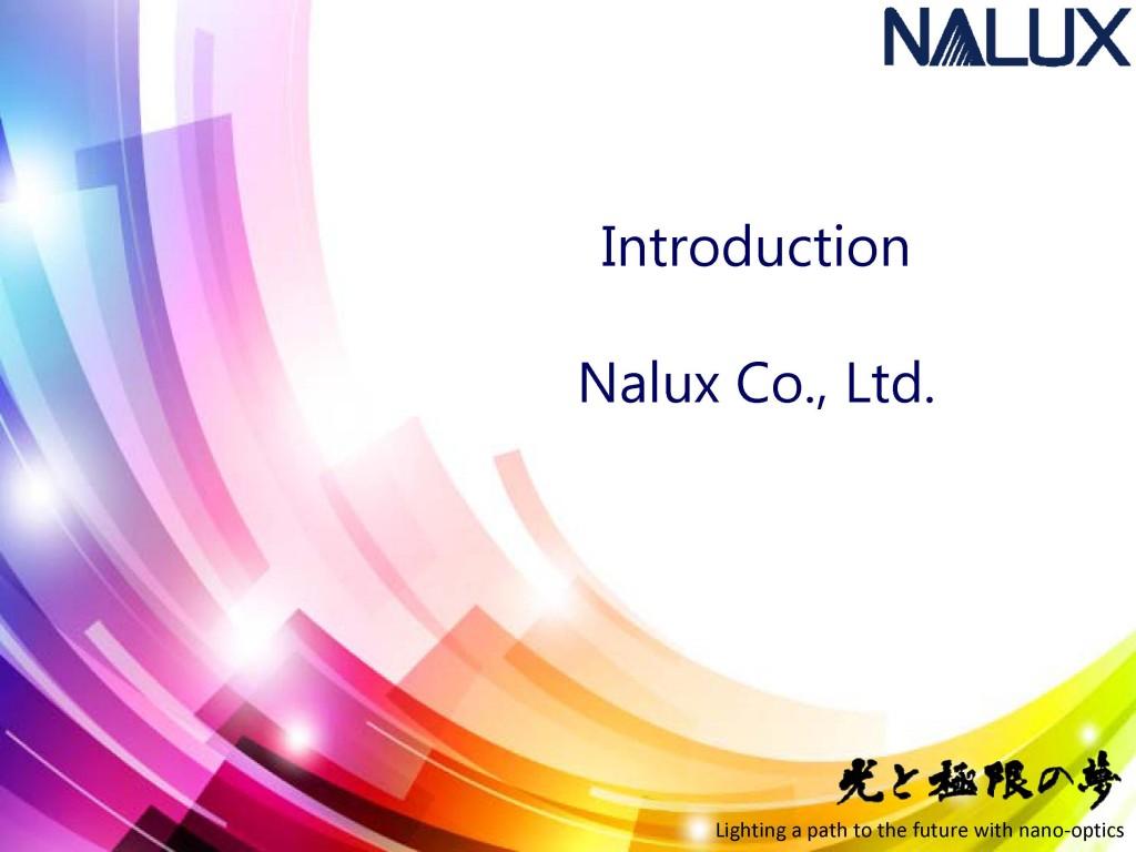 NALUX_Presentation2018_1