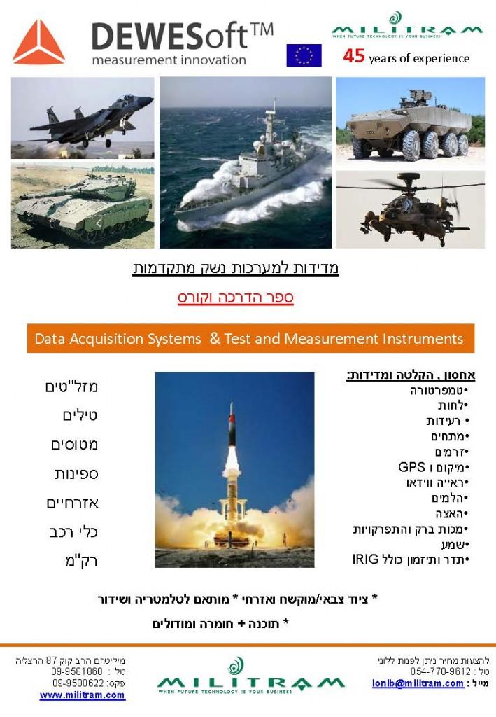 Dewesoft missile Presentation Yeni1
