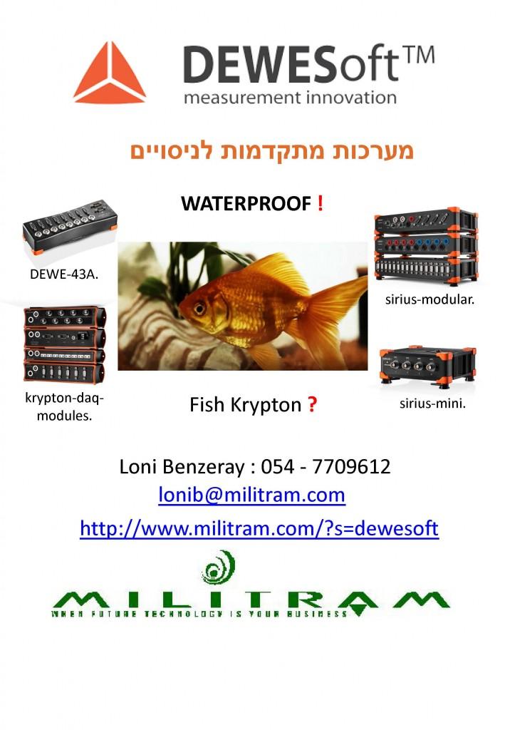 Dewesoft Fish Presentation fish1