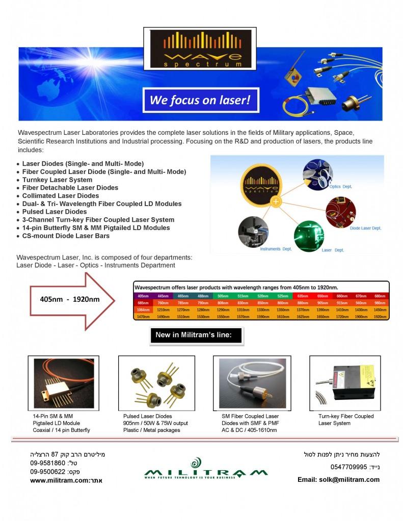 Wavespectrum Laser ad 2001