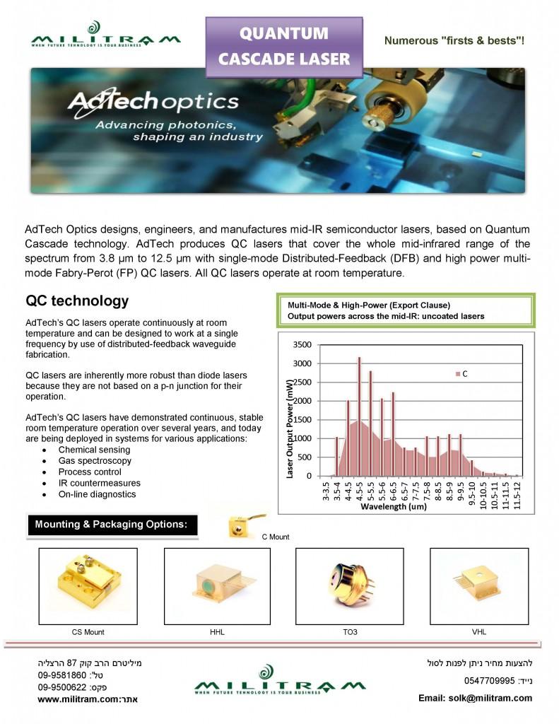 AdTechoptics Laser ad