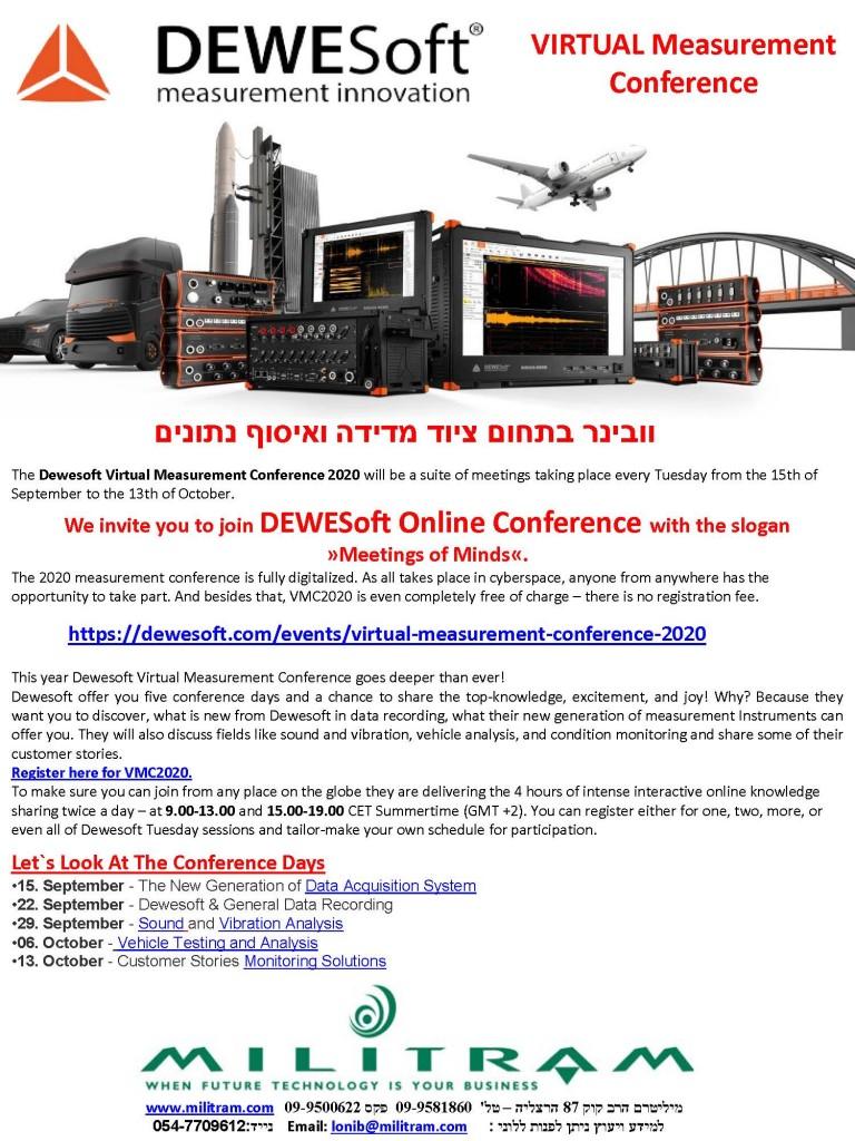 Dewesoft invitation Loni