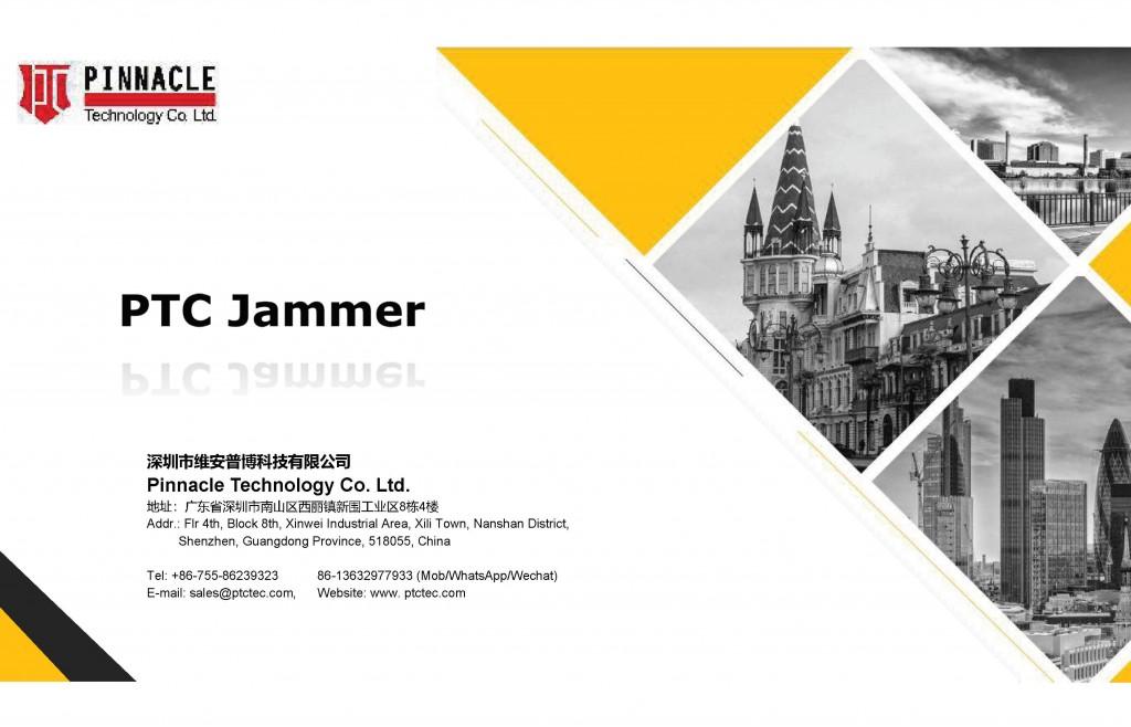 PTC RF Signal Jammer Catalogue 2021_P1