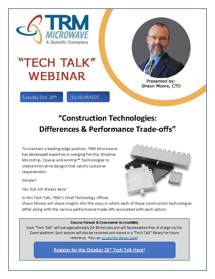 October Tech Talk Construction Technology Differences Flyer